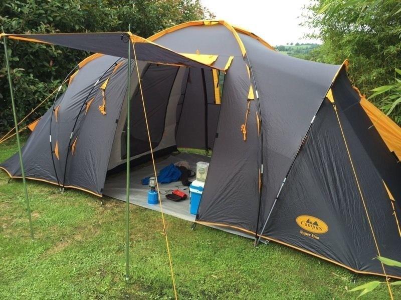 Unikalne Namiot CAMPUS SUPER DUO (dwie sypialnie) - 7389170835 - oficjalne XN72