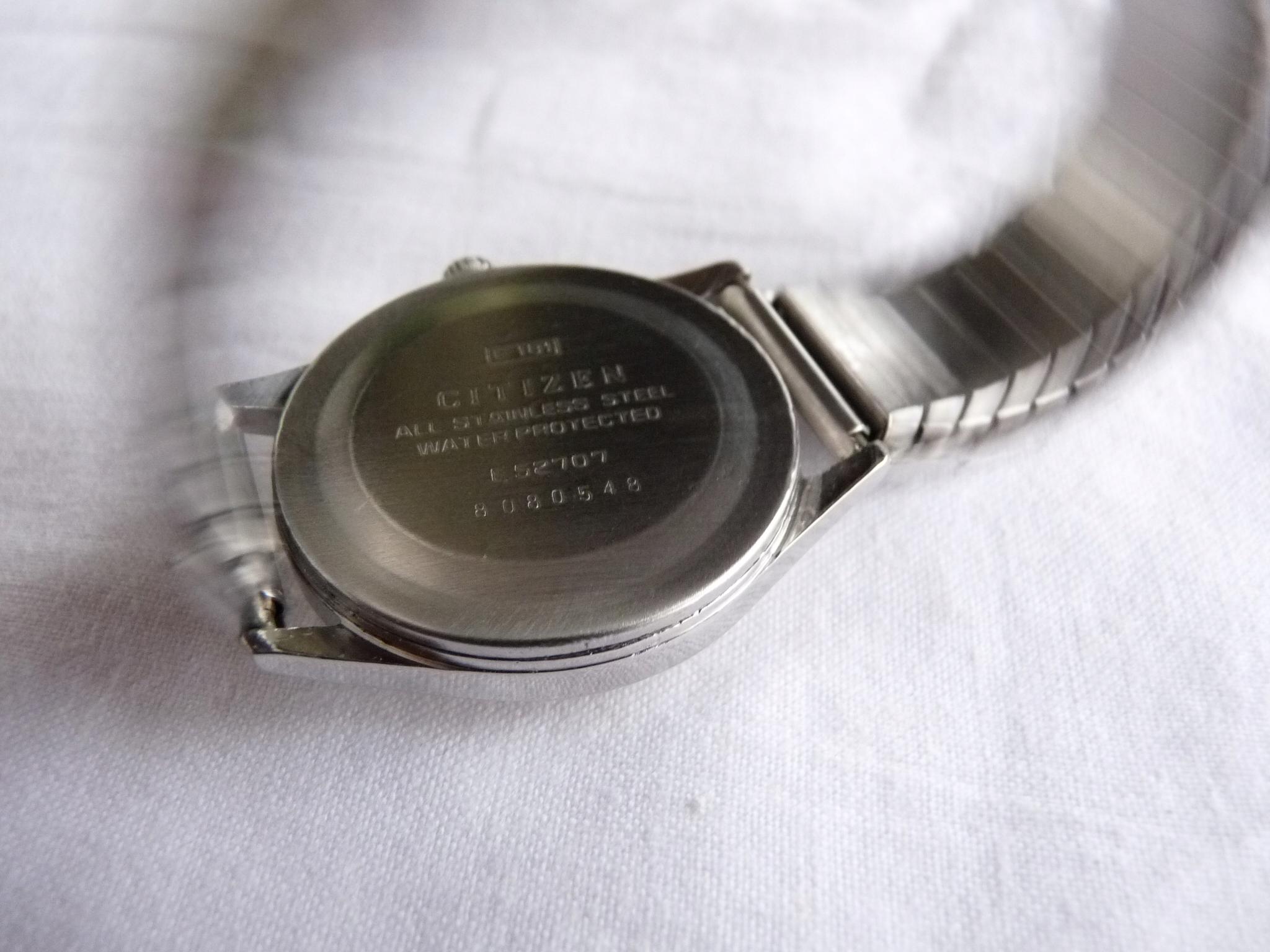 6b61b259cfad7a Japoński zegarek CITIZEN 17 jewels koperta w stali - 7633058855 ...