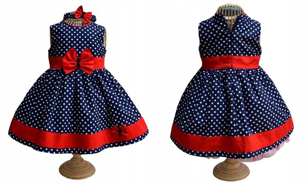 e74aad9e75 Evita sukienka z opaską wszystkie rozmiary !!!r.98 - 7539518390 ...
