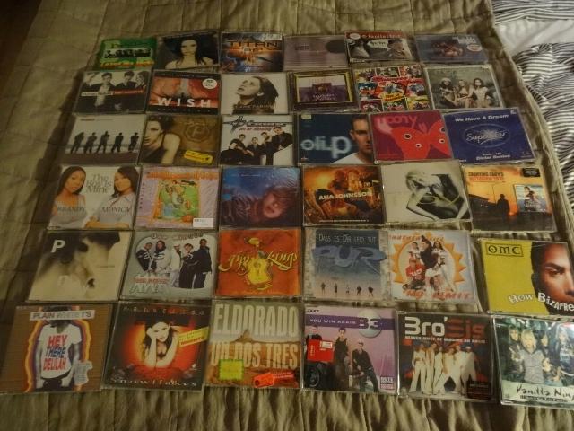 10 zestaw 72 single lata 90-te Gipsy Kings i inni