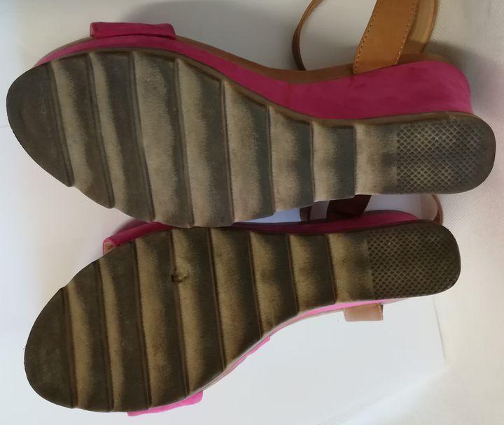 48f343f341075 Buty damskie JENNIFER 37 sandały różowe CCC - 7300677921 - oficjalne ...