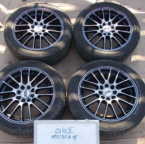 Clio Ii Felgi Aluminiowe 15 4x100 2 Rozstawy 6777844787