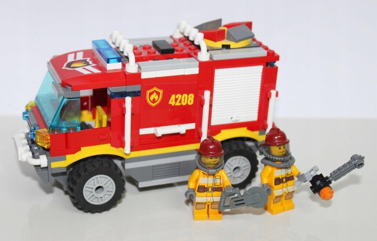 Lego City Straż Pożarna 4208 Wóz Straży 7275827448 Oficjalne