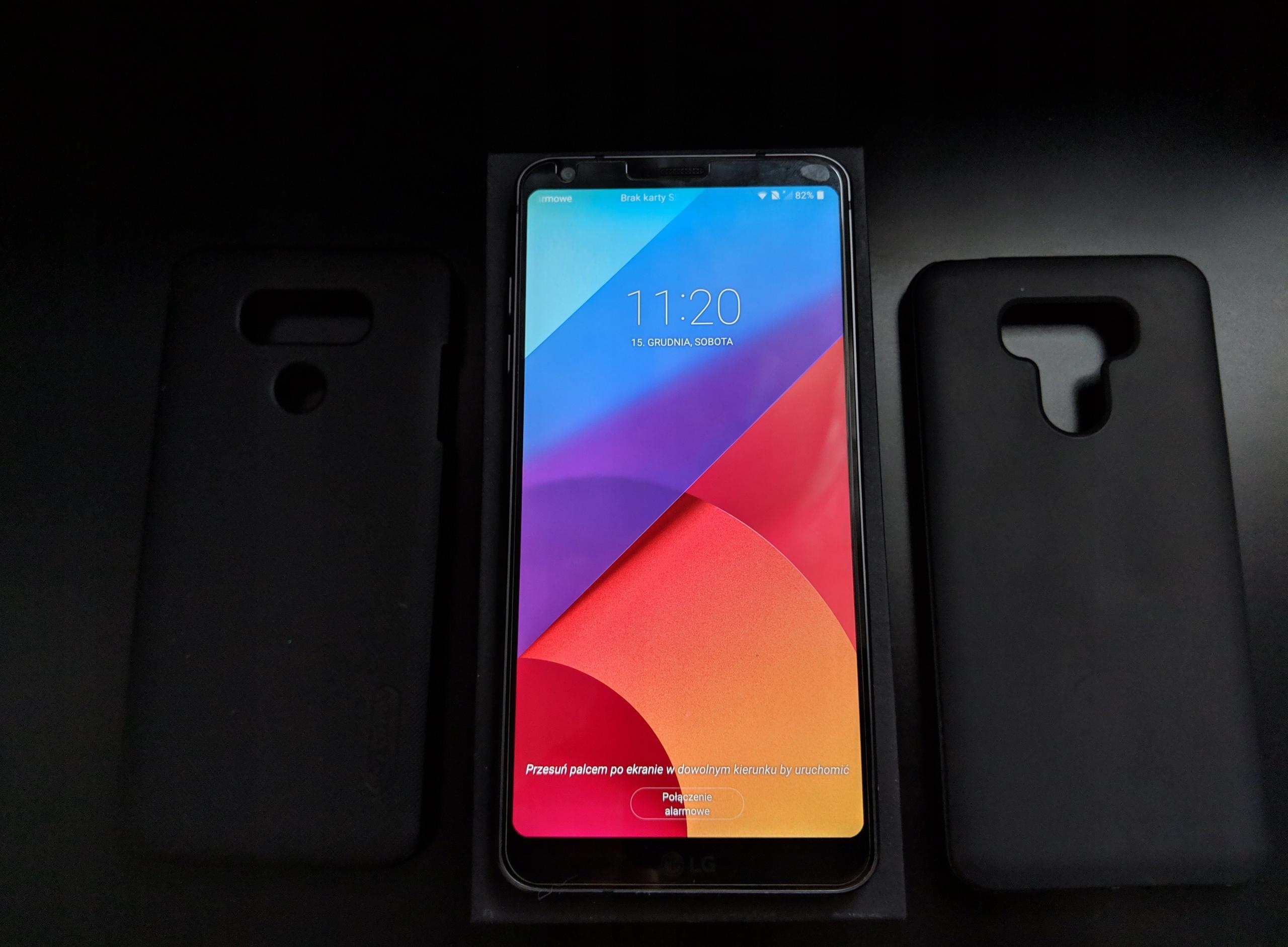LG G6 + 2x etui, gwarancja do 09.2019 - Warszawa