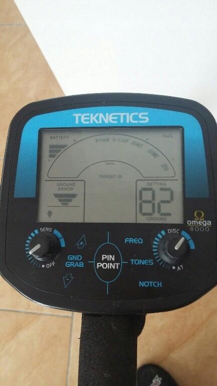 Wykrywacz Teknetics Omega 8000