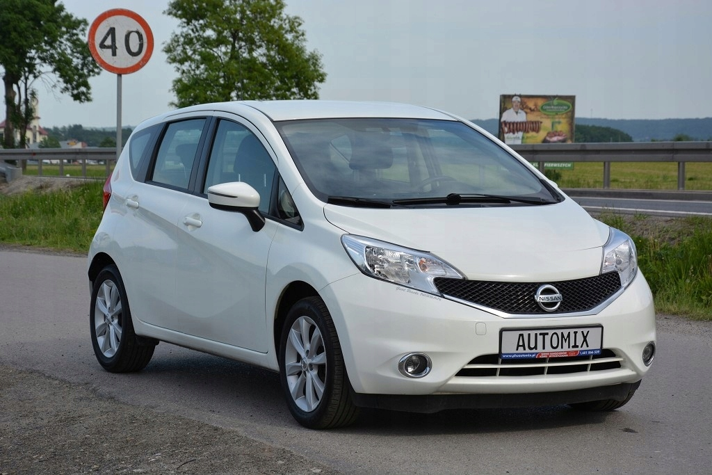 Nissan Note 1.2 Benzyna ,stan super , 100 % bezwyp