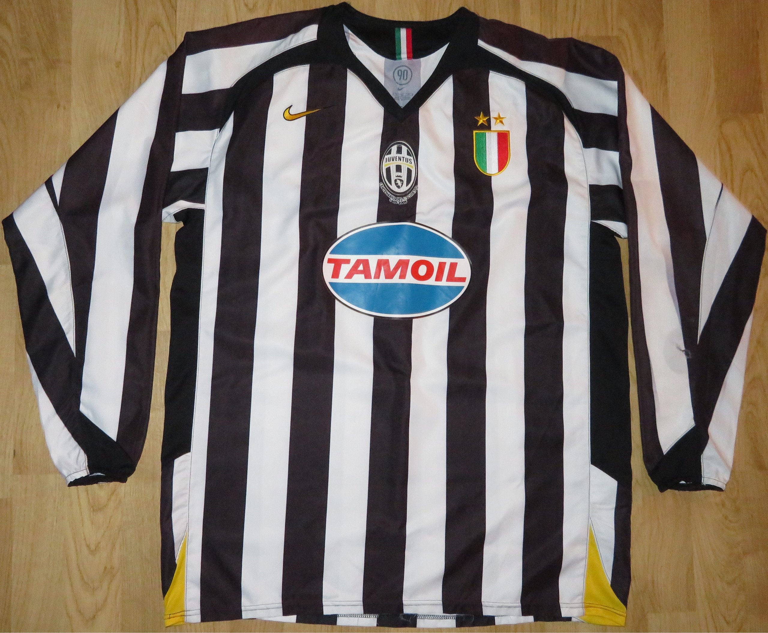 e75f4b150 Koszulka piłkarska JUVENTUS 0506 XL Nike IBRA! - 7199862966 ...