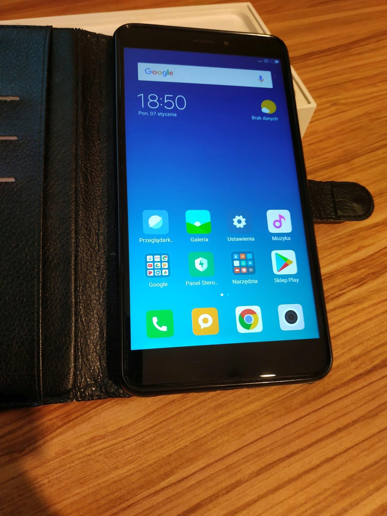 XIAOMI Mi Max 2 64/4GB czarny -Problem z kartą SIM