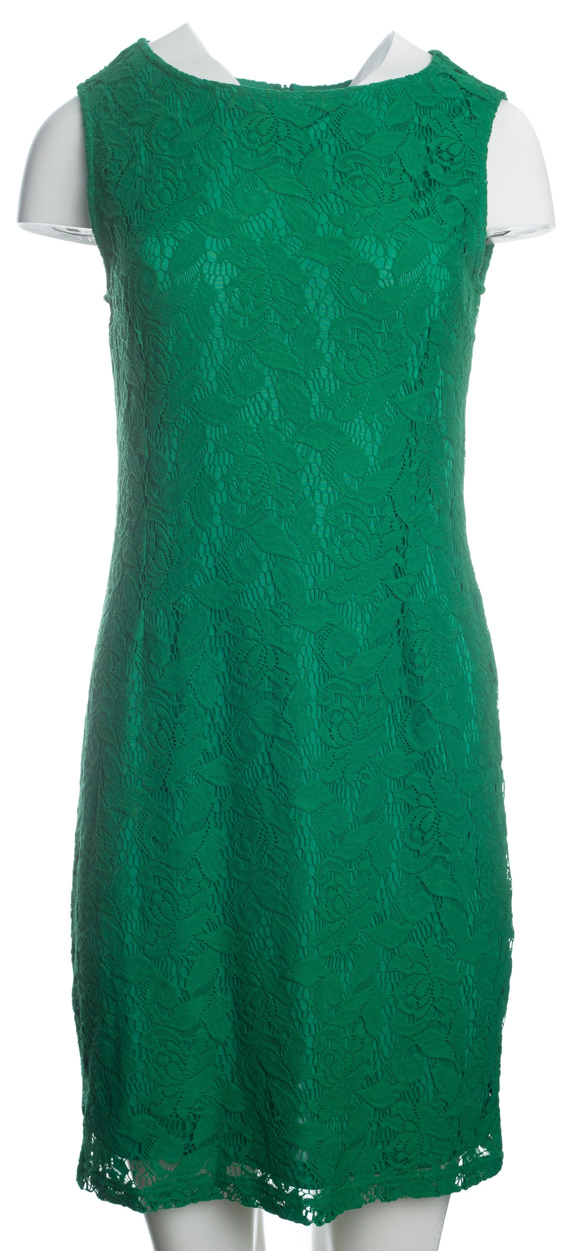 f6c7039bdc1da6 S.OLIVER zielona koronkowa sukienka r.L - 7341808271 - oficjalne ...