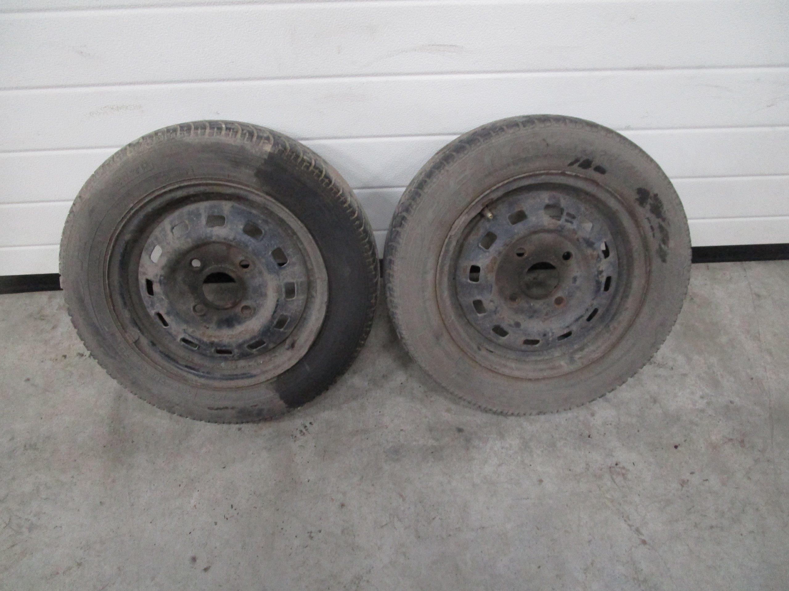 2x Koła Opony Daewoo Matiz 4x1143 13 15570 13r 7186829669