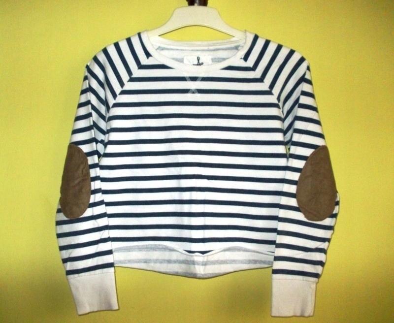 Bluza bluzka crop top paski Atmosphere oversize