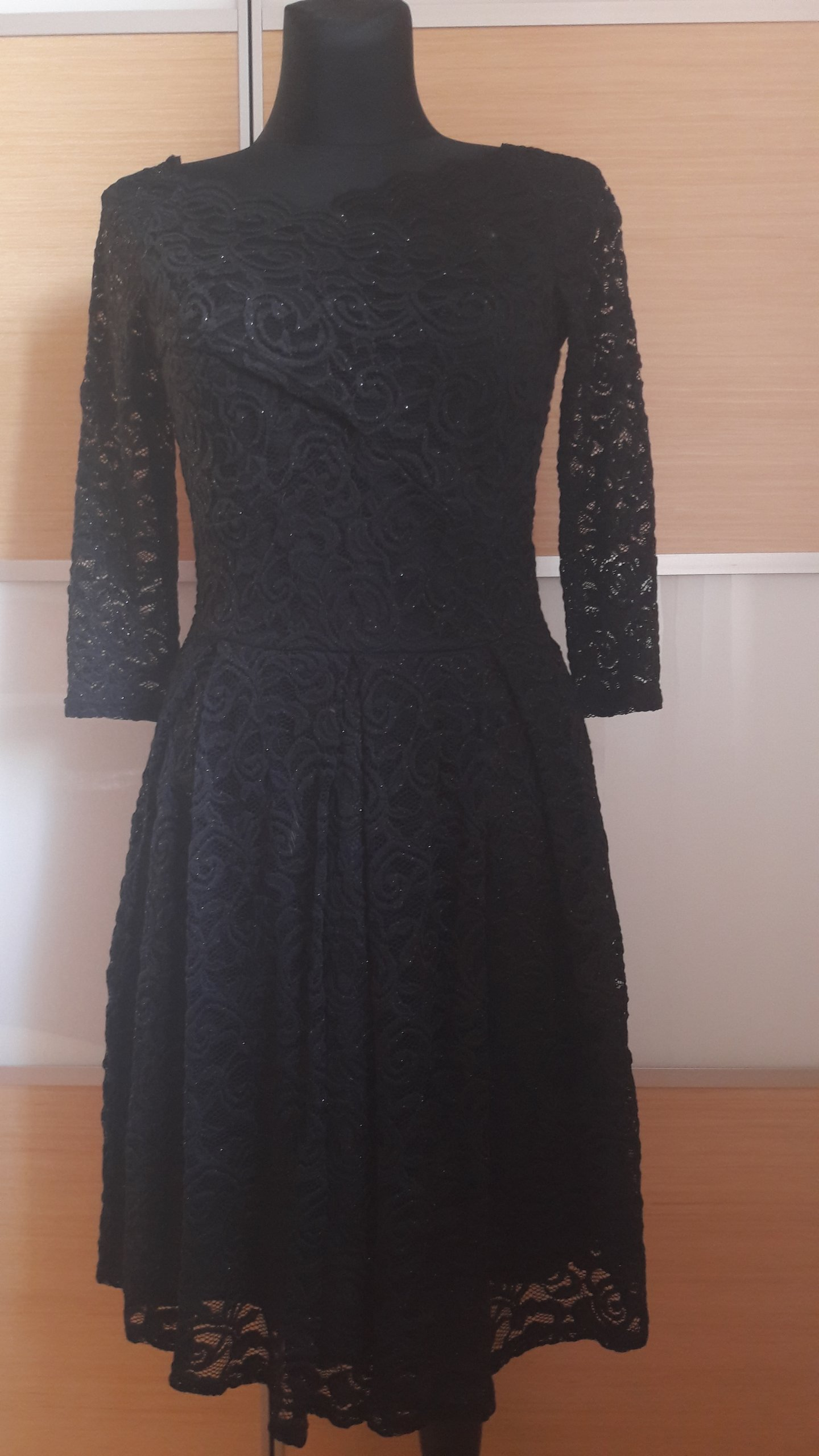 18e9ce795c ORSAY sukienka czarna koronka r.40 jak NOWA - 7107615172 - oficjalne ...