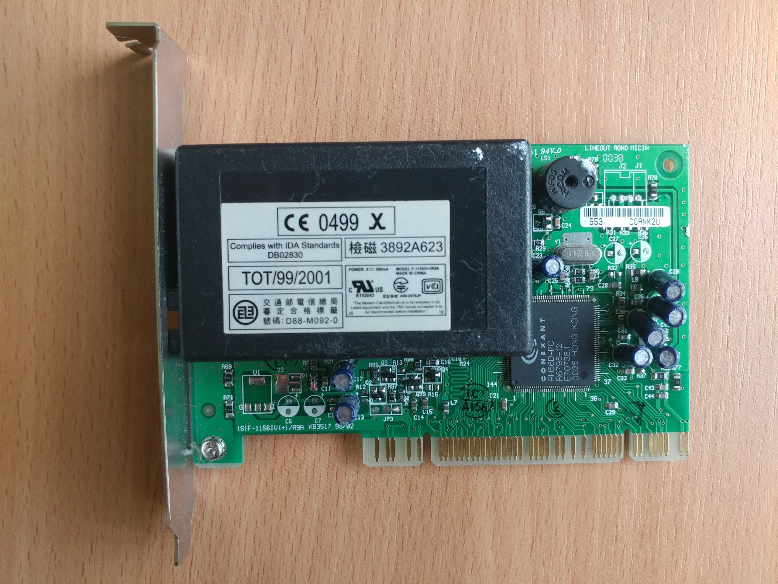 Modem CONEXANT RH56D-PCI