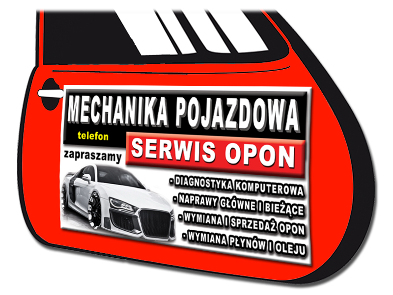 Magnes Reklama Magnetyczna Baner Folia Plakat 5661385551