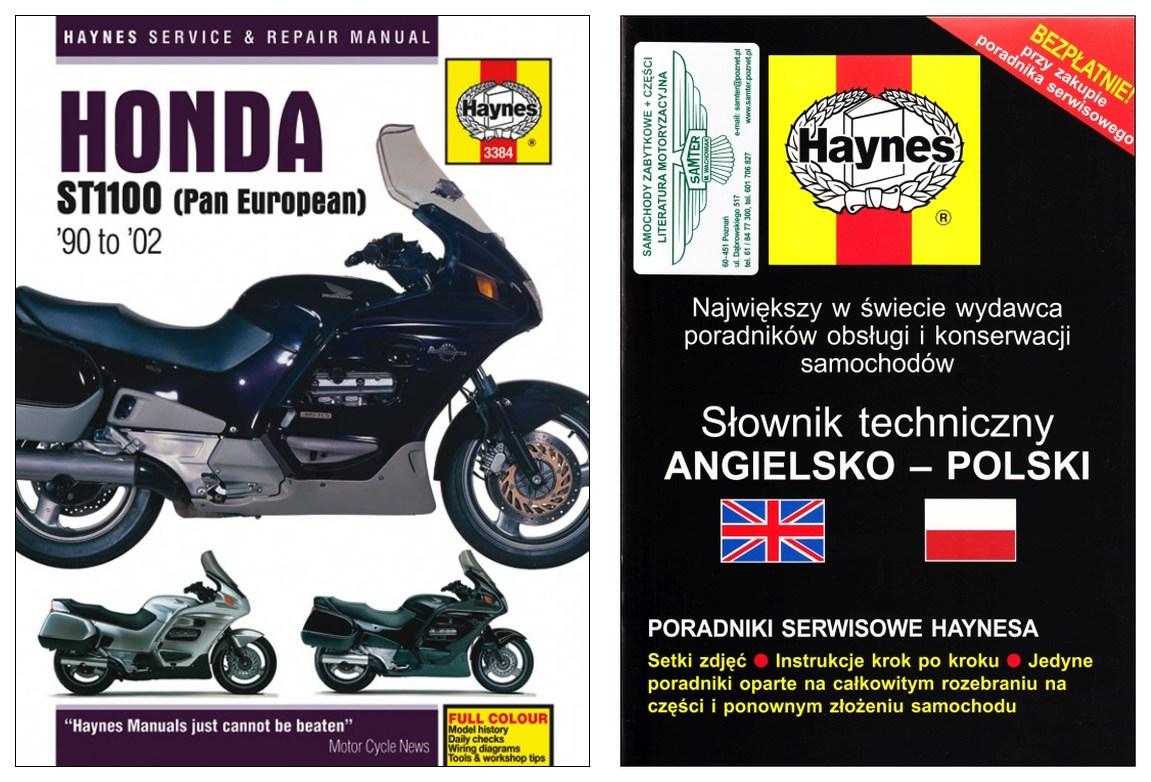 Honda St1100 Pan European 1990 2002 Instr Haynes 7324180991 Wiring Diagram