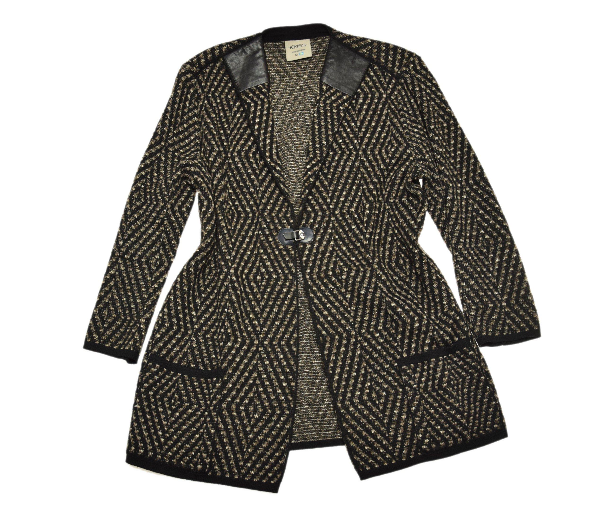 d50feb7c208c5f Sweter Wstawki Patterns Eco M Kriss Narzutka Skóra 7271067767 q5txBnT