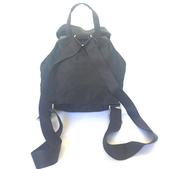 c17ccc5904e55 Oryginalny Czarny Plecak Prada Nylon - 7086247699 - oficjalne ...