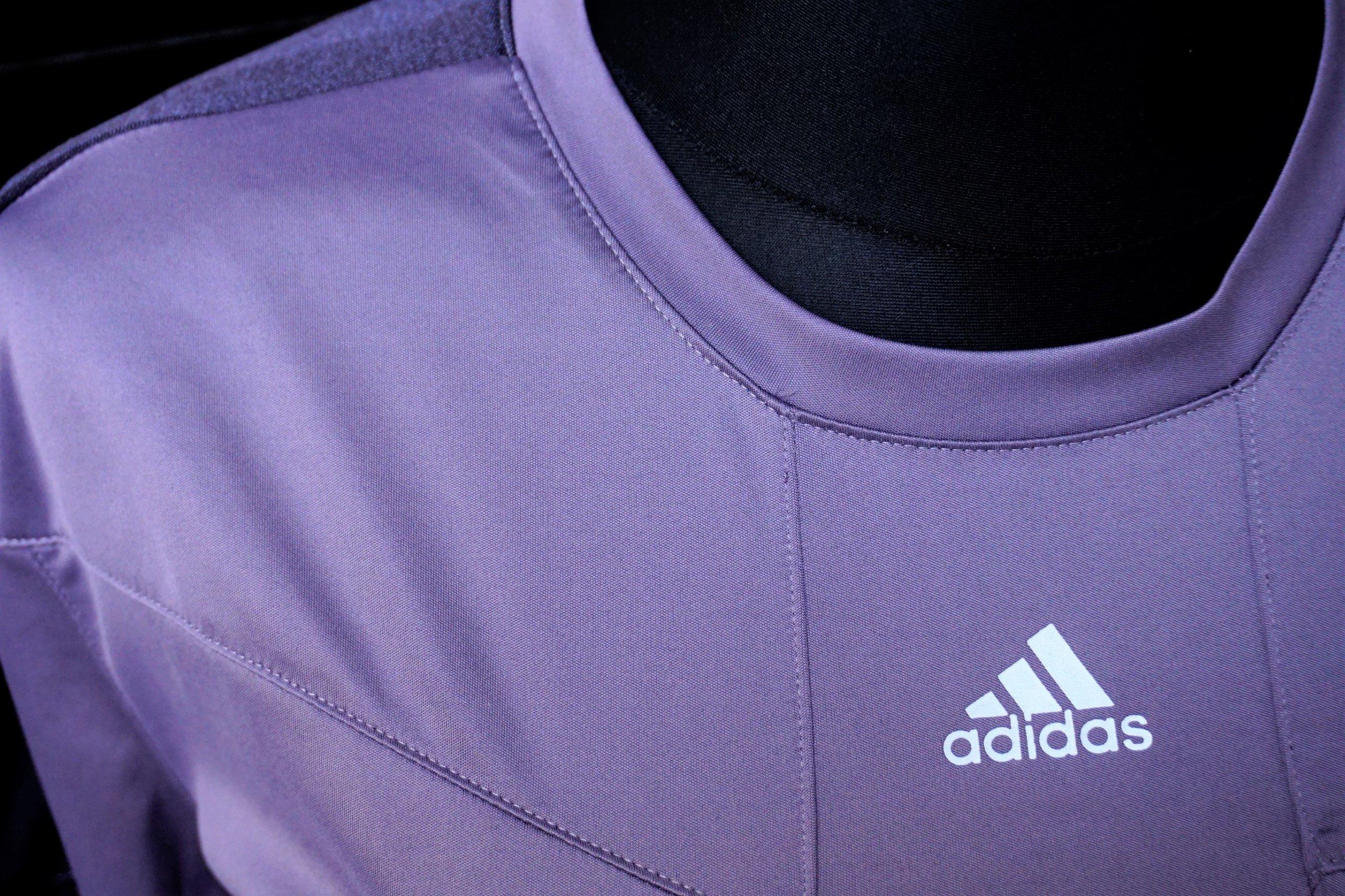 Adidas t-shirt damski 3XL fiolet Nordic Walking