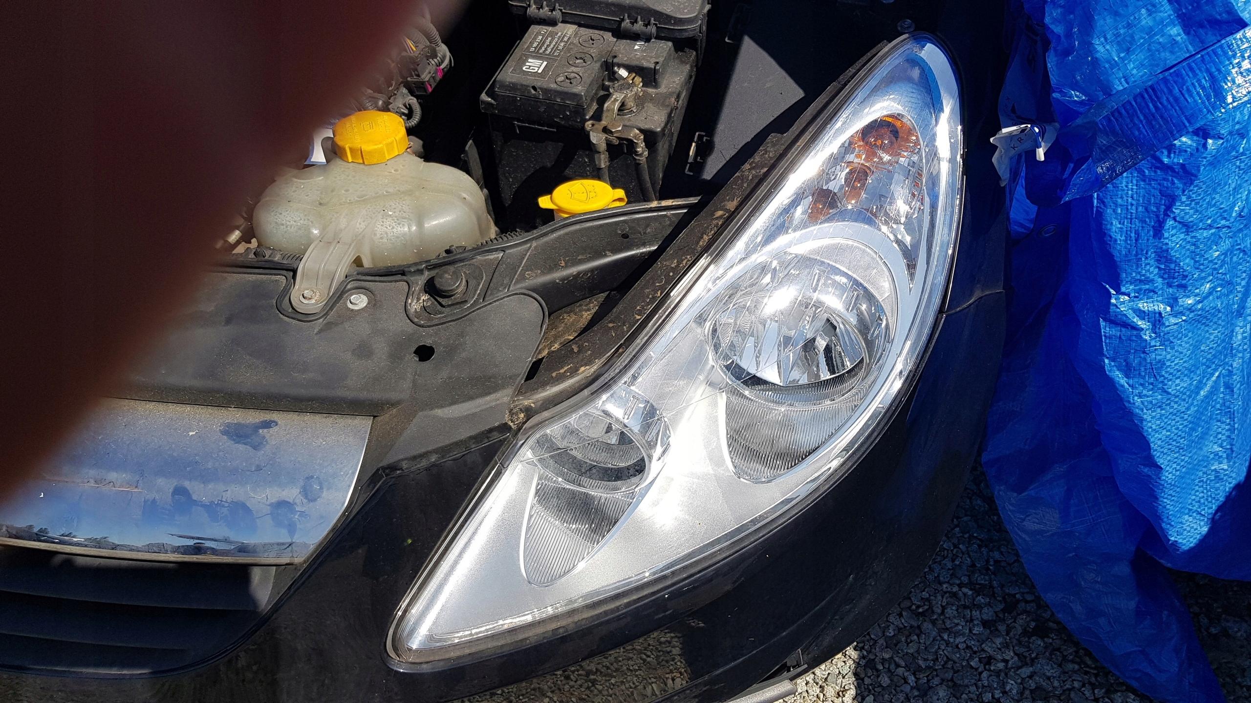 Corsa D Lampa Przednia Lewa Oryginał Demontaz 7493380488