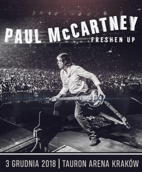 Bilety na koncert Paul-a McCartney-a -Kraków 03.12