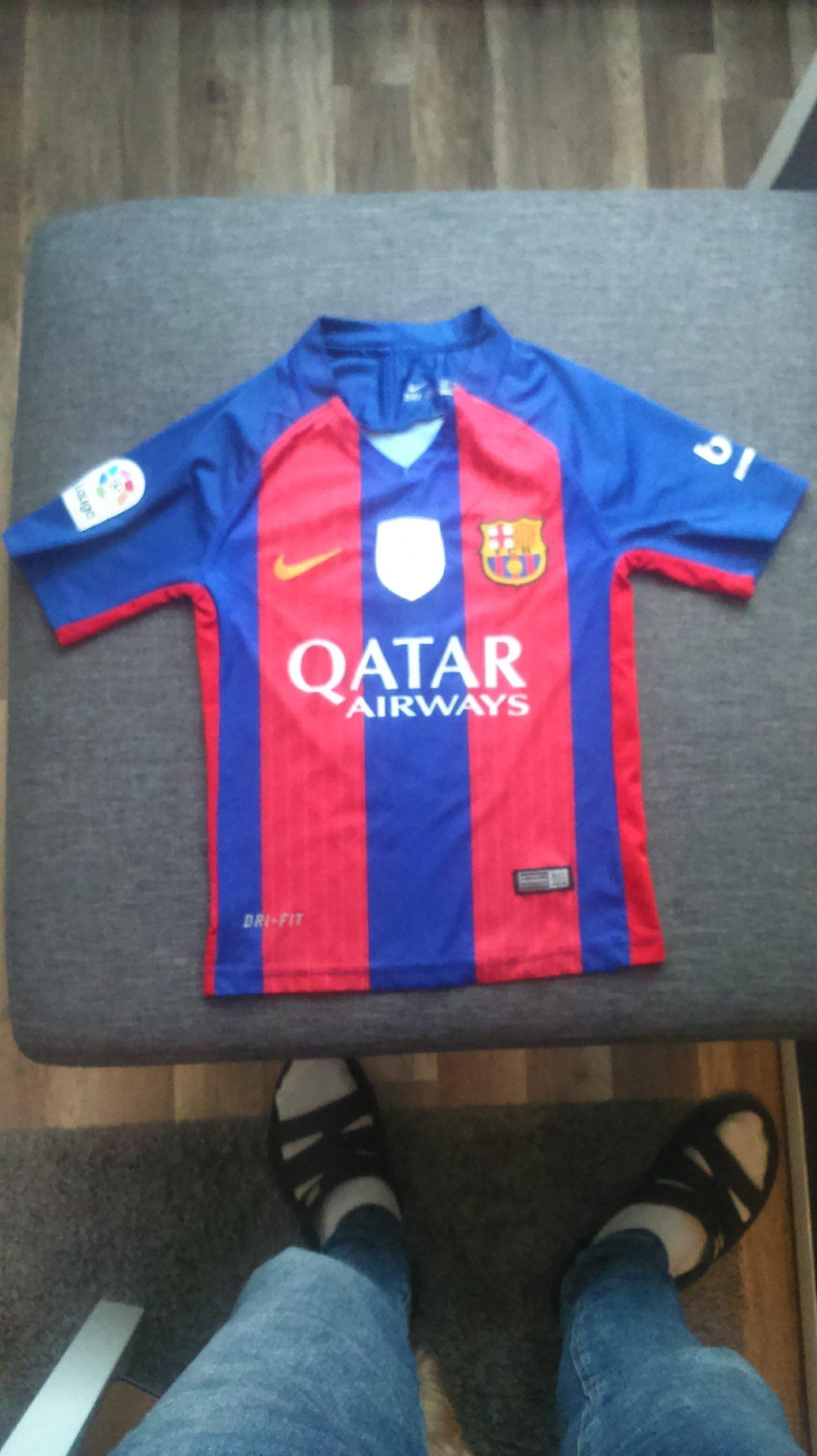 38f757ff9 Koszulka fc barcelona messi r 128 oryginalna nike - 7324917645 ...