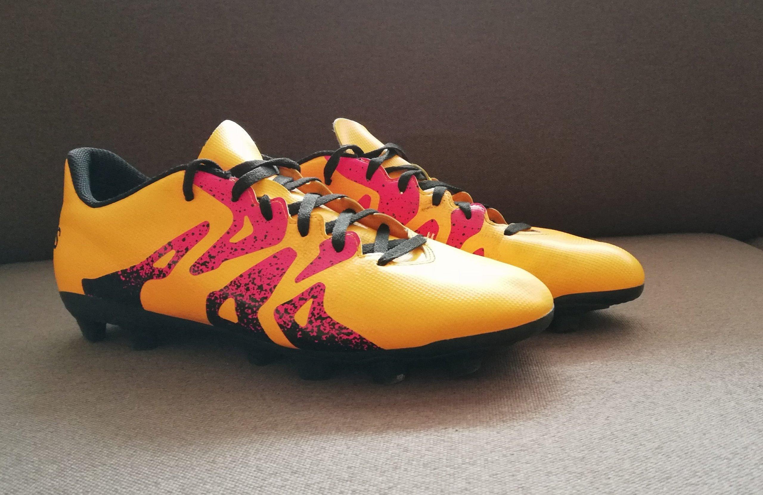 97a990f54 Adidas X 15.4 korki piłkarskie używane, stan bdb - 7218132859 ...