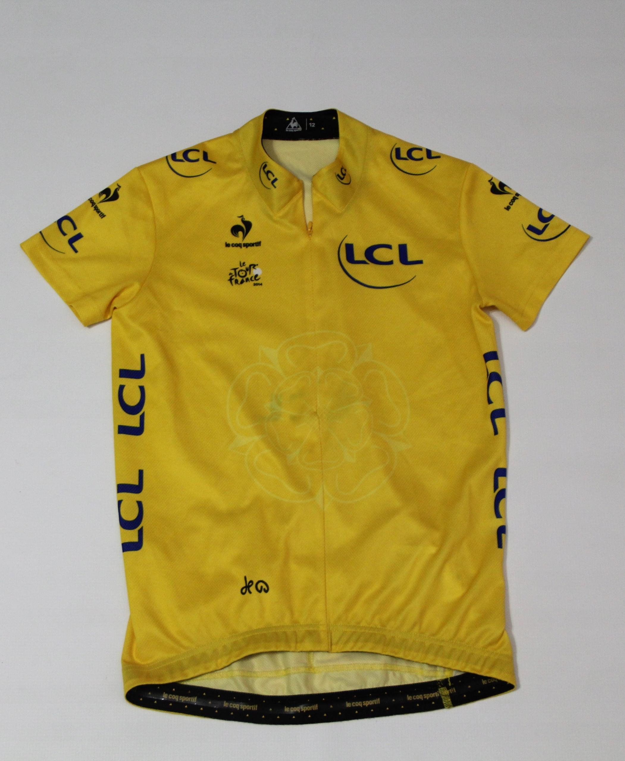 Męska Koszulka Lee Coq Sportif Le Tour France 2014