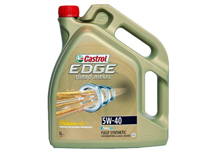 CASTROL EDGE TURBO DIESEL 5W40 5L 5W-40 TITANIUM