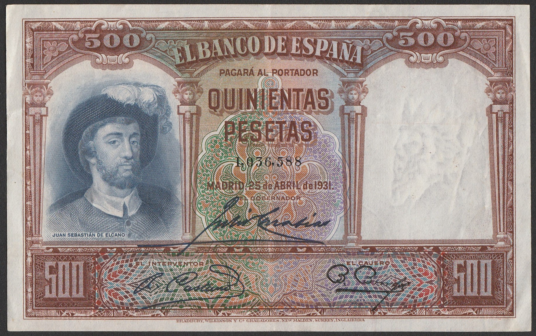 Fotos de billetes de 10000 pesetas 52