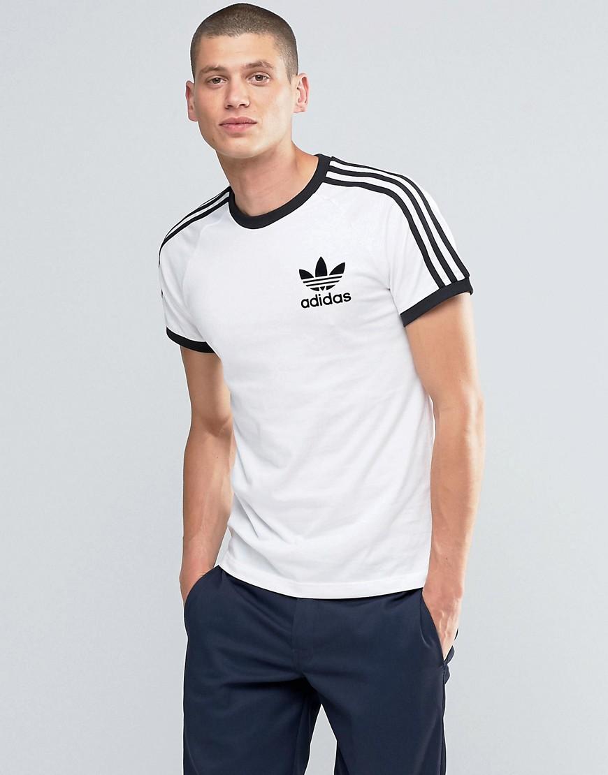 Adidas Originals California T shirt Az8129 Blue Men, Adidas