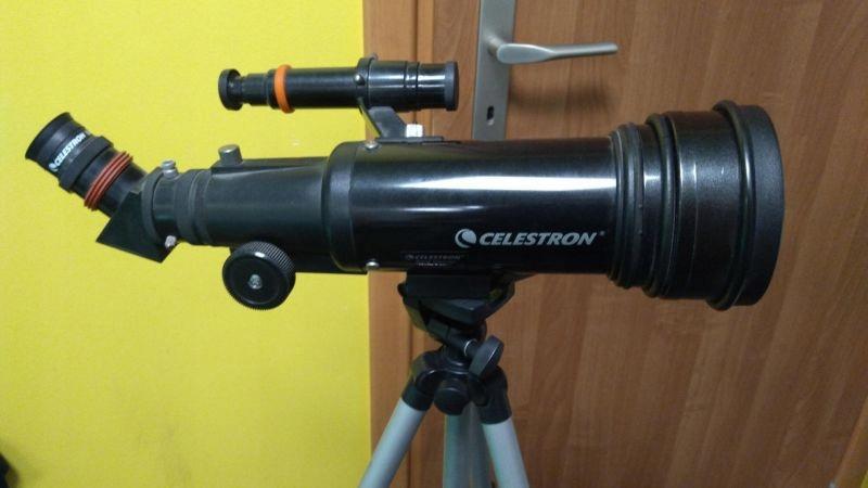 Teleskop celestron travel scope  loombar