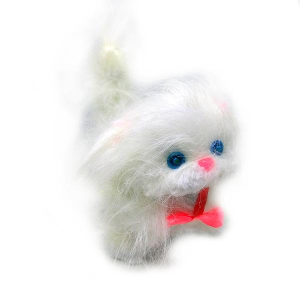 Interaktywny Kot Dla Dzieci Chodzi Miauczy Biały 7232675624