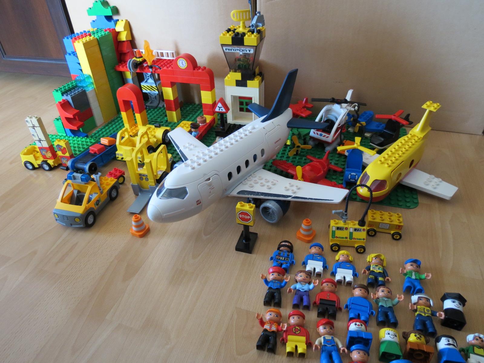 Lego Duplo Lotnisko 6 Kg Ok 408 Elem L286 7292410259