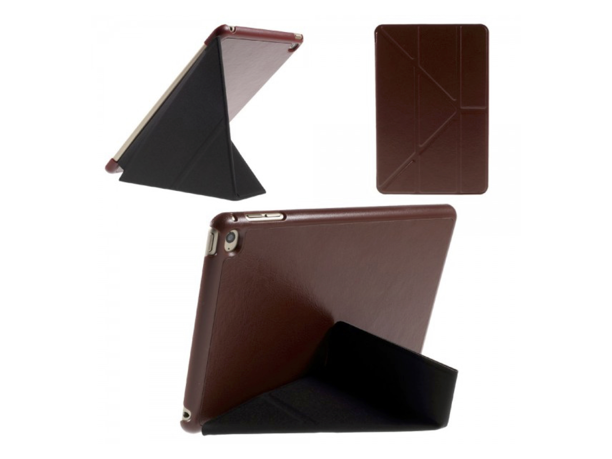Etui Apple iPad 2 3 4 Naturalna Skóra Case ORIGAMI