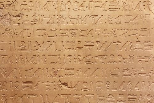 Fototapeta na wymiar Egipskie hieroglify