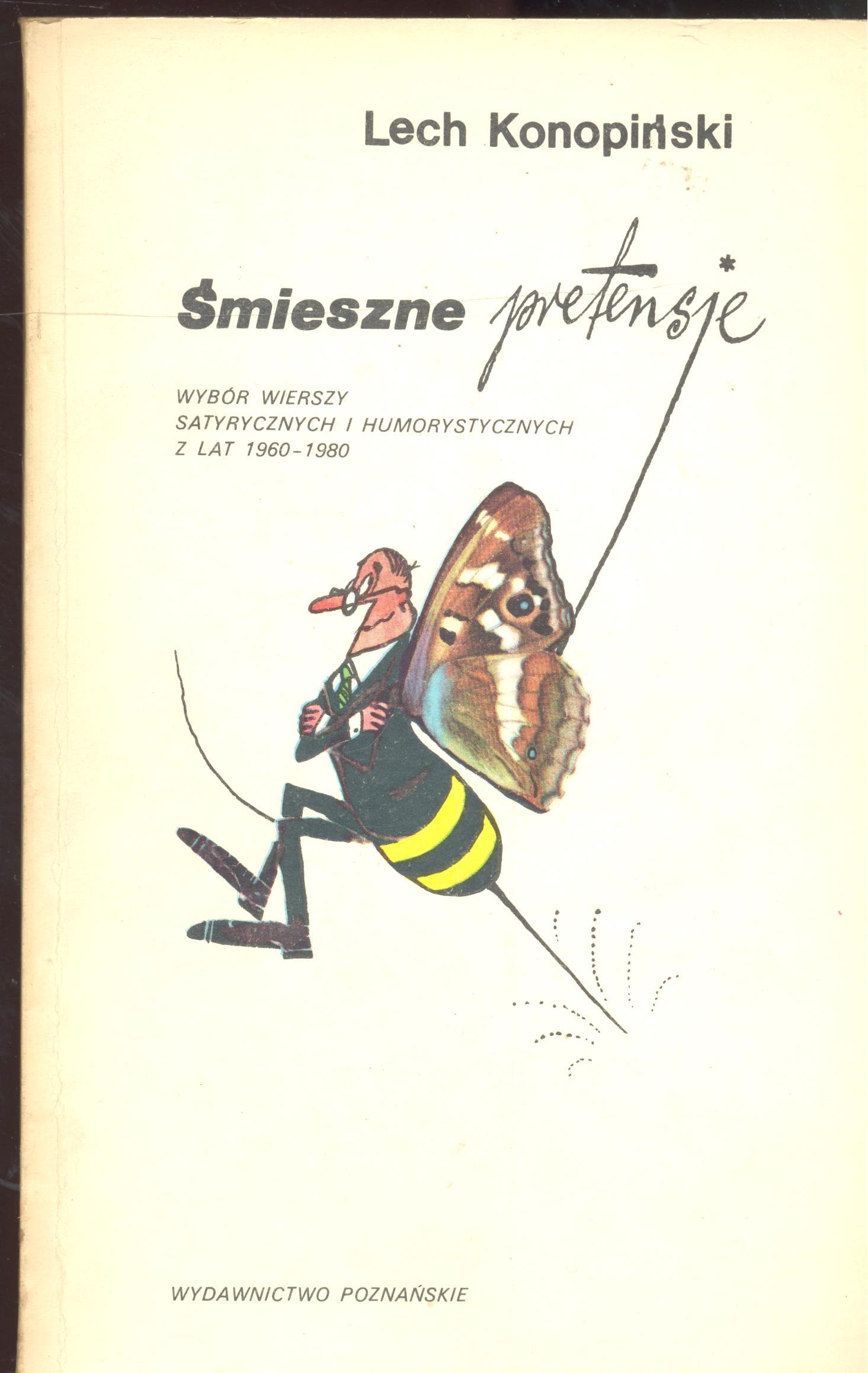 Znalezione obrazy dla zapytania Lech Konopiński : Śmieszne pretensje