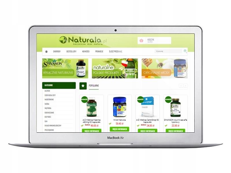 f9a6a51d2a28 6-letni sklep internetowy z suplementami diety - 7588268299 ...