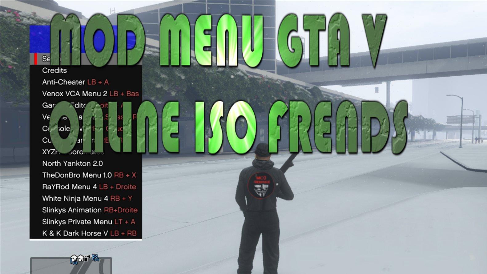 GTA V MOD MENU XBOX 360 LT 3 0 - 7227807982 - oficjalne archiwum allegro