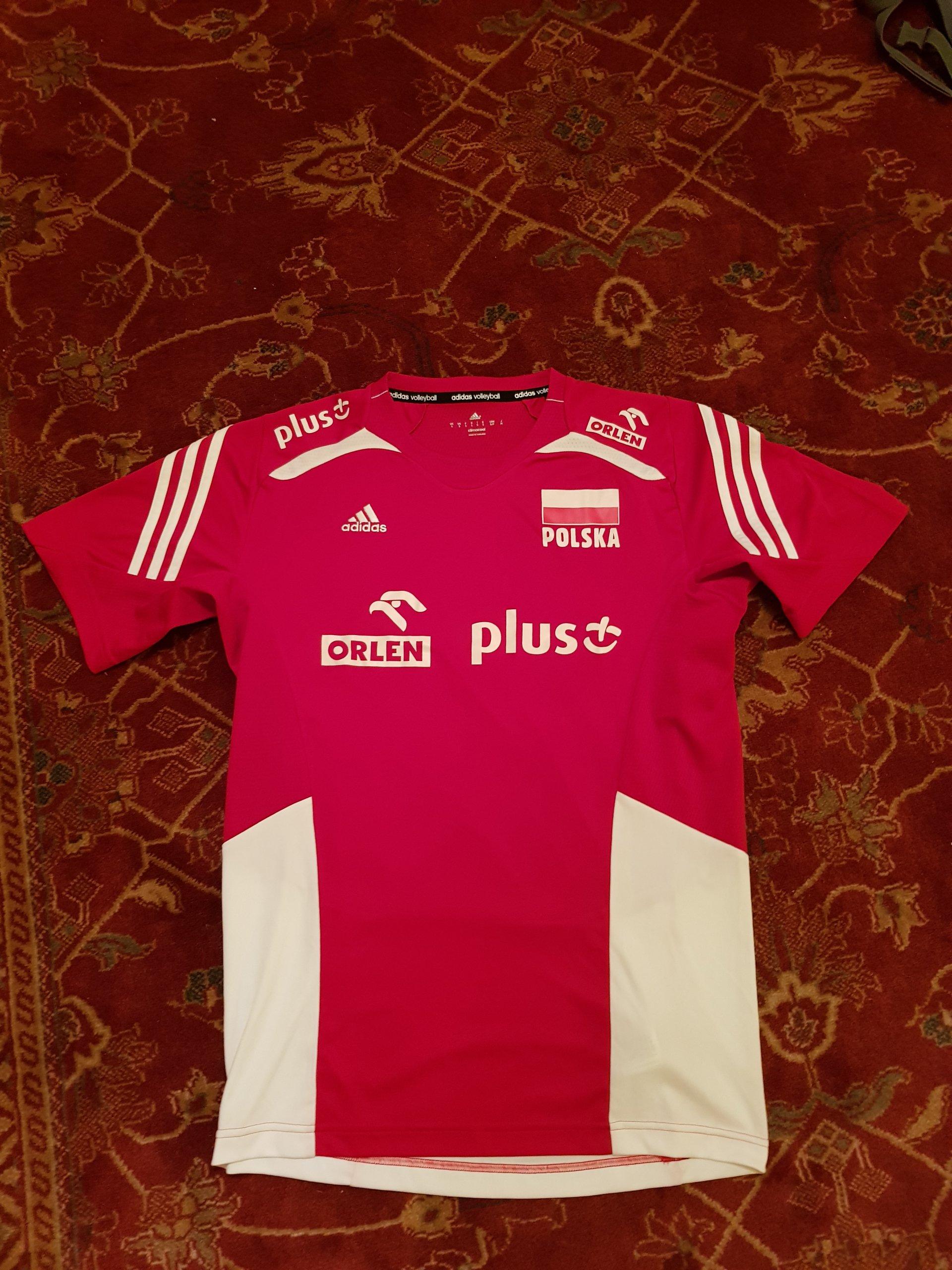 7237b0ee1 Koszulka reprezentacji Polski w siatkówce Adidas - 7160141689 ...