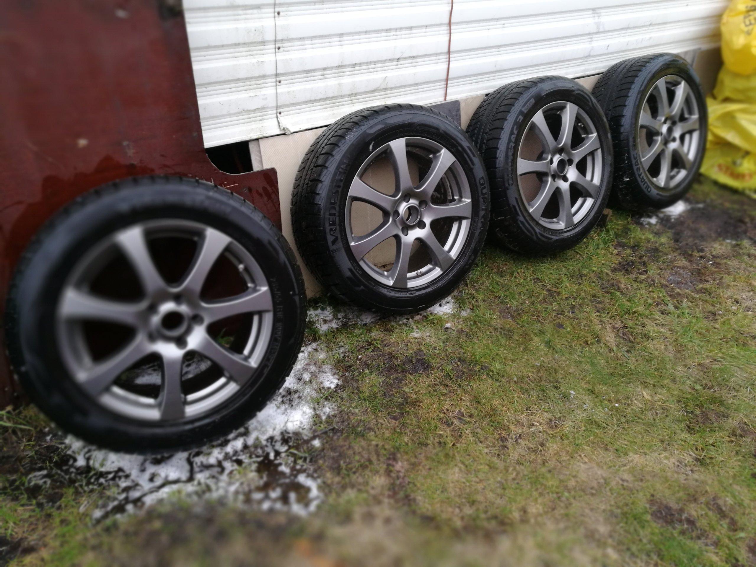 Koła Felgi Alu Opony Zima Toyota Rav4 5x1143 18 7135798275