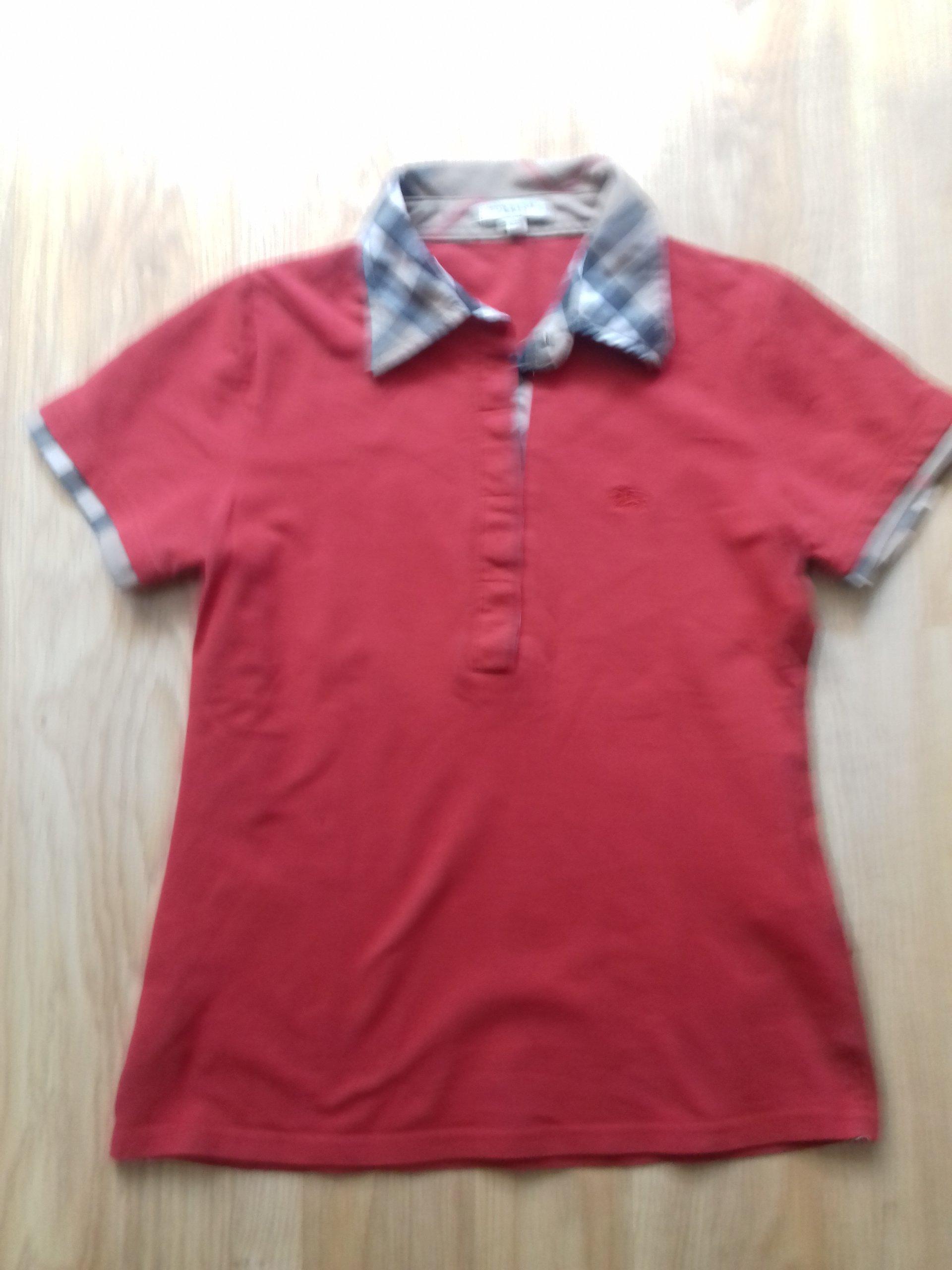 c29c5a810 BURBERRY BRIT POLO T-shirt r.40/L - 7287415735 - oficjalne ...