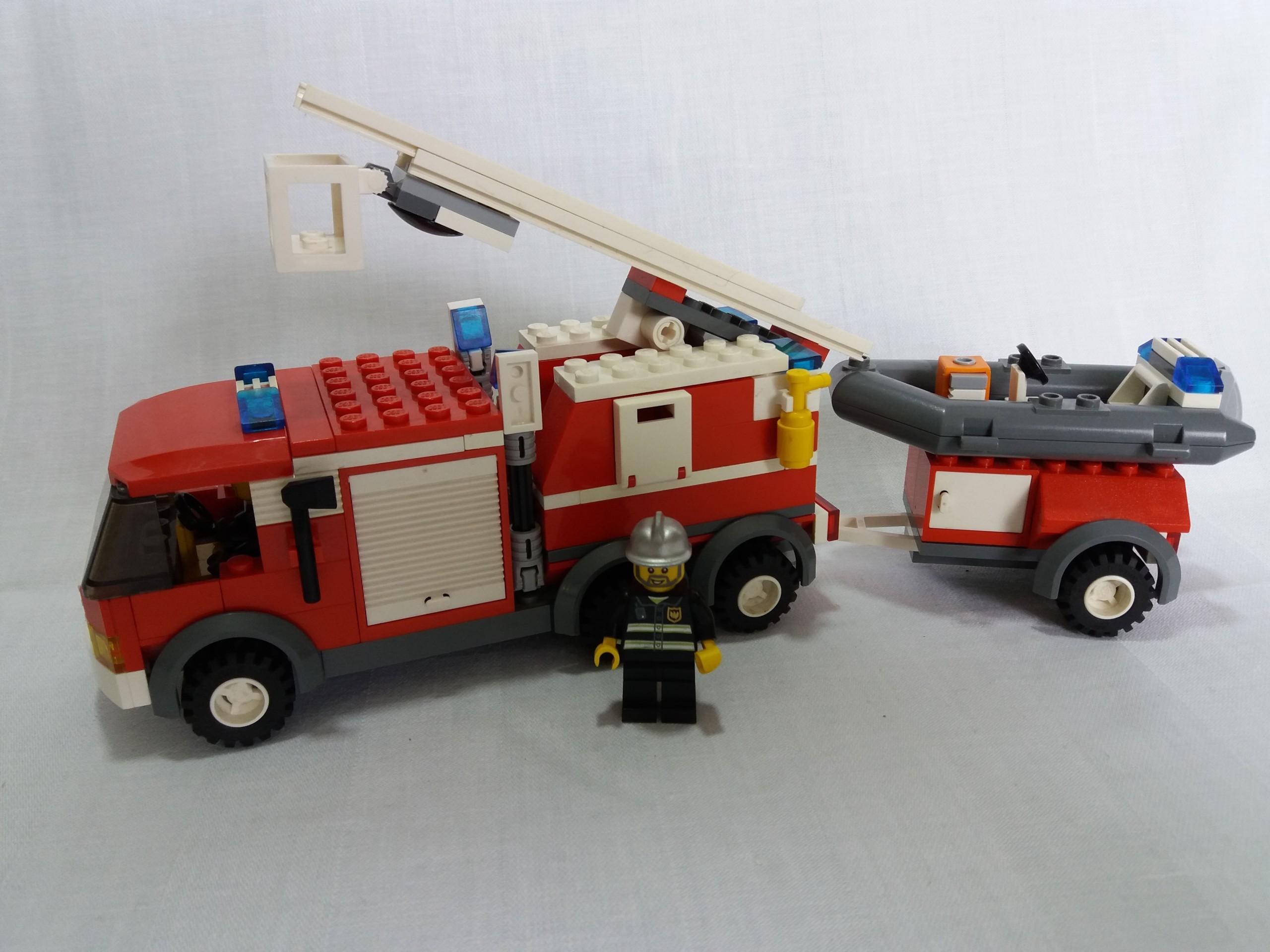 Lego City Straż Pożarna 7239 Fire Truck 7435659334 Oficjalne