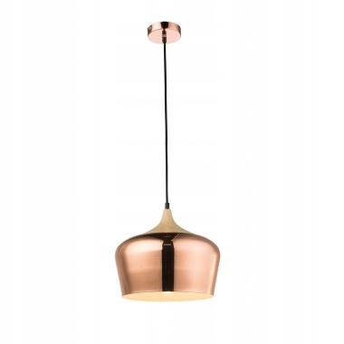 Lampa Wisząca E27 Retro Loft Salon Kuchnia Miedź