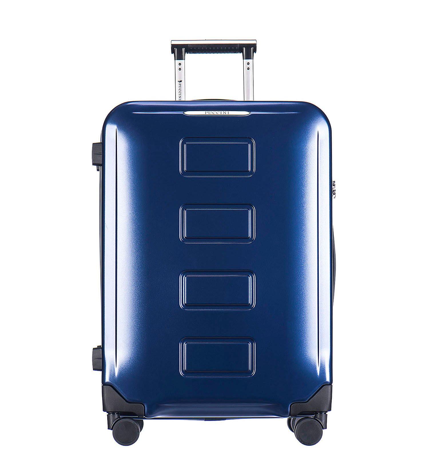 776f2ab21e0c0 Walizka Puccini Vancouver niebieska duża zamek TSA - 7659437436 ...