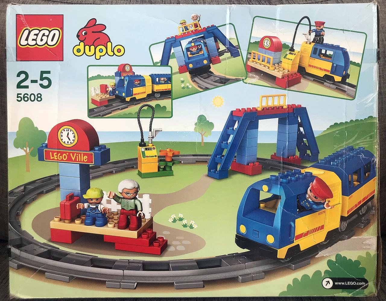 Lego Duplo Town 5608 Pociąg Kolejka Elektryczna 7332663524
