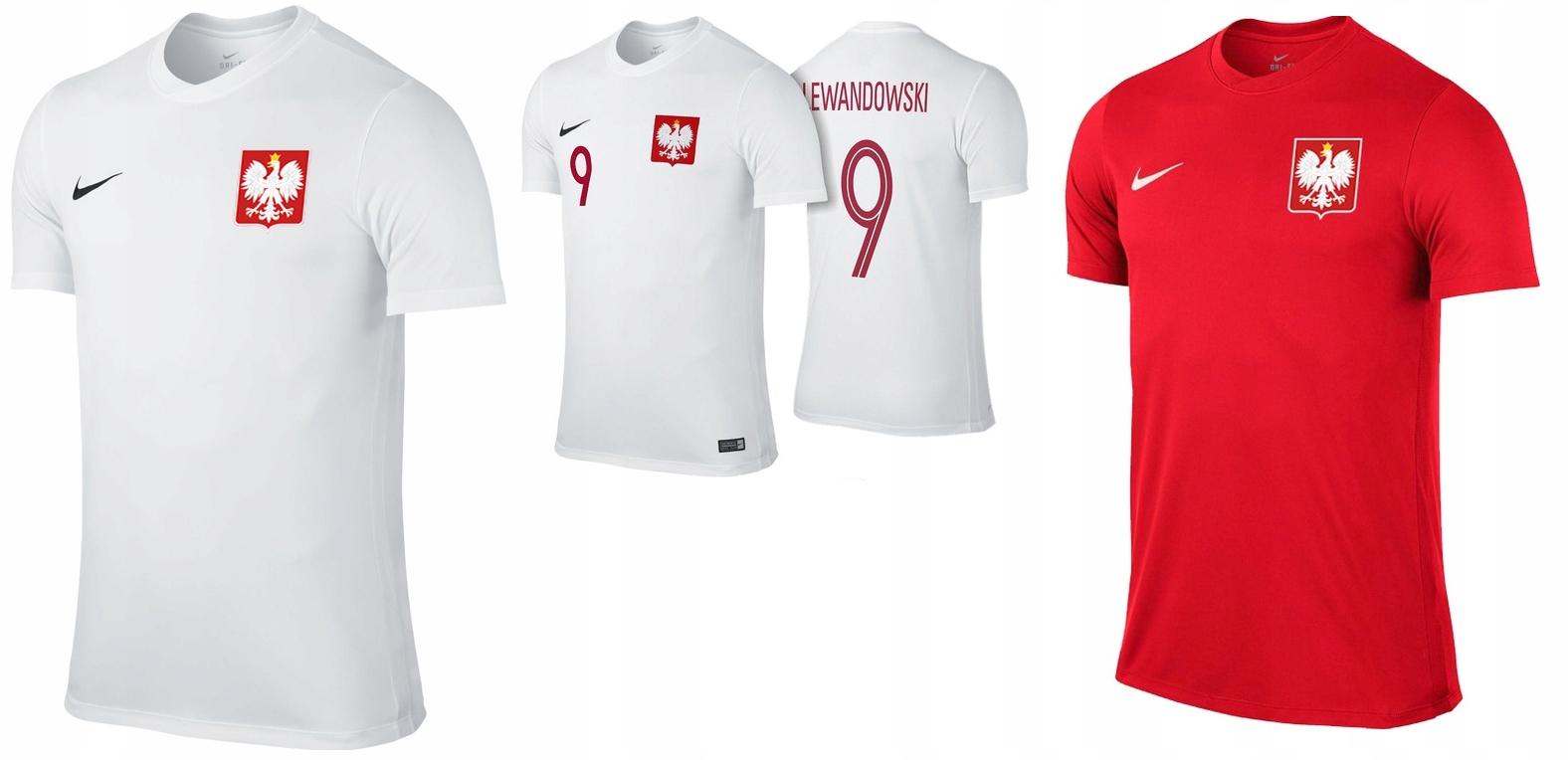 5c5b5f39e koszulka Reprezentacji Polski NIKE NA PREZENT - 7693249422 ...