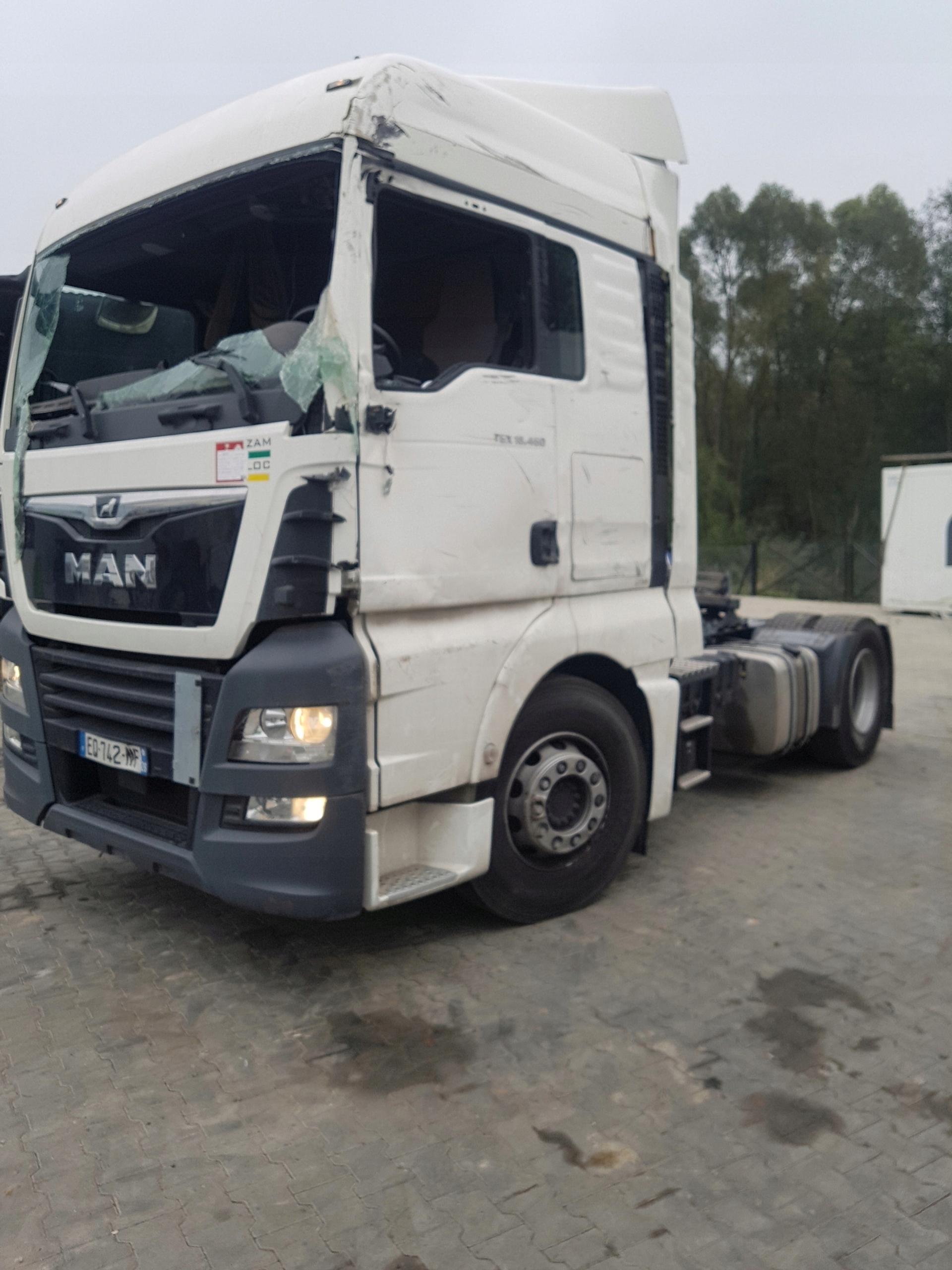 MAN TGX 18 460 EURO6 gwarancja do 2020 - 7563949549 - oficjalne