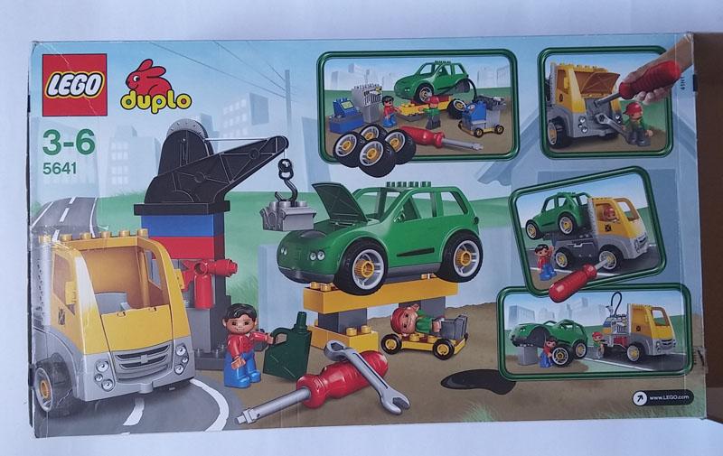Lego Duplo 5641 Warsztat Samochodowy 7125731080 Oficjalne