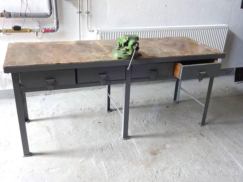 Poważnie Stół warsztatowy z imadłem - 7422400435 - oficjalne archiwum allegro NH45