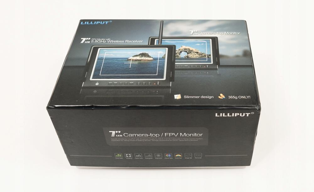 "Monitor 7"" Lilliput 664 O/P STAN IDEALNY"